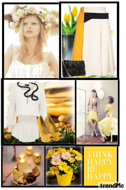 spring   yellow = happy