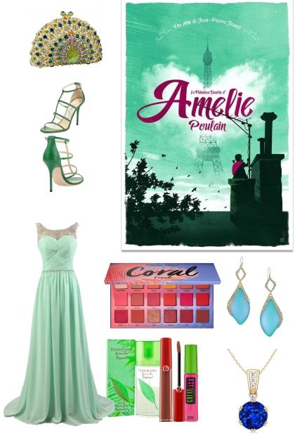 green prom look- Fashion set