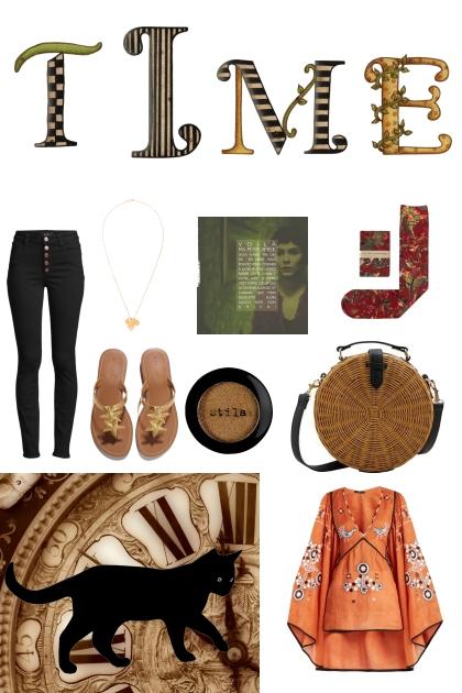life is like a timeless adventure- Fashion set