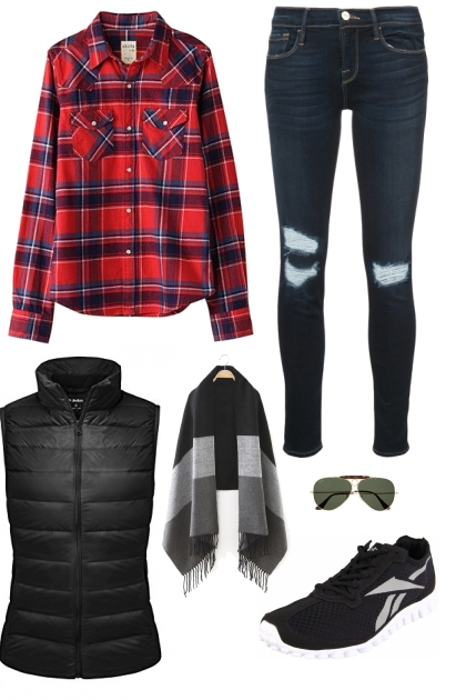 Plaid Casual