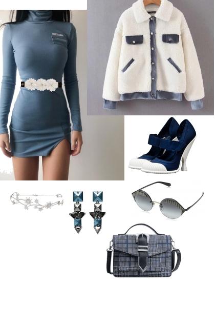 blue mood- Modna kombinacija