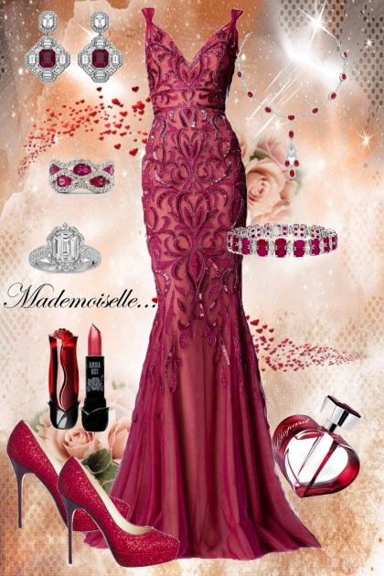 Red Passion- Fashion set