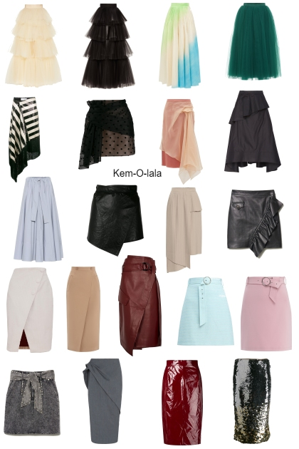 2019 skirts trend