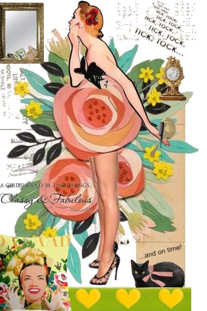 Classy & Fabulous- Combinaciónde moda