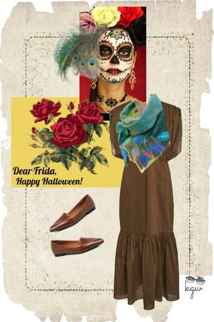 Dear Frida, Happy Halloween!