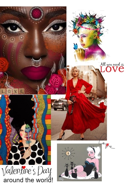 Valentine's Day around the world!- Combinaciónde moda