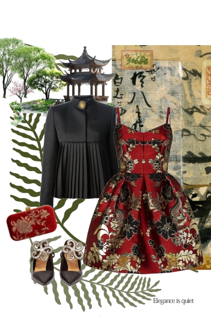 Elegance Is quiet- Combinaciónde moda