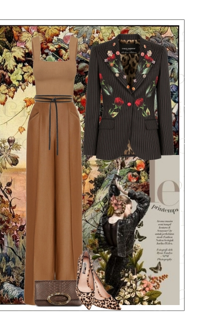Flowers & Leopard Print-OH MY!
