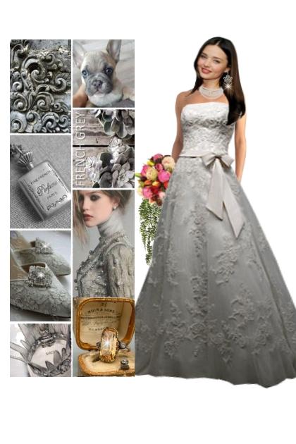 French Grey Wedding