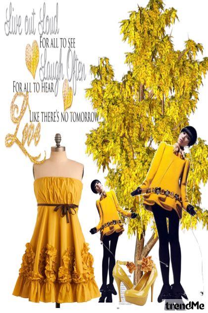 Žuto,žuto i samo žuto