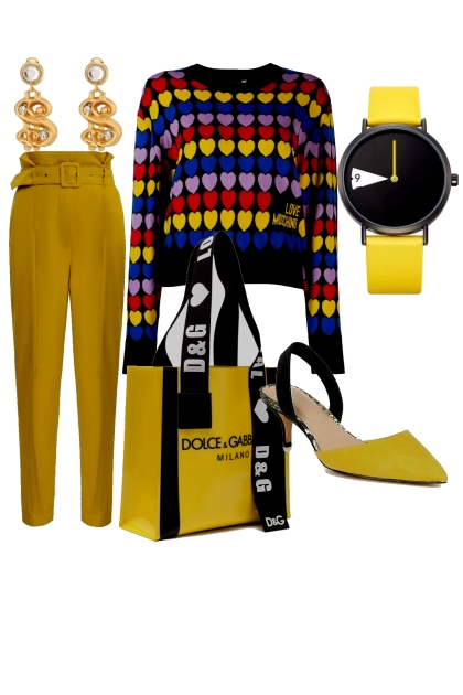 № 15  yellow