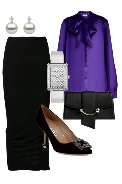 № 13  violet