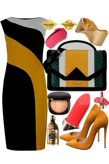 № 30  yellow- Combinazione di moda
