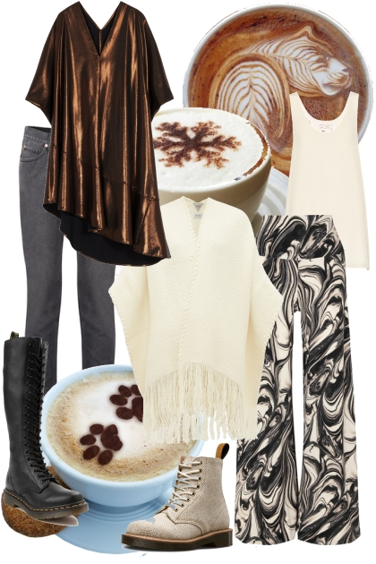CAPPUCCINO (2 PERSON COSTUME)