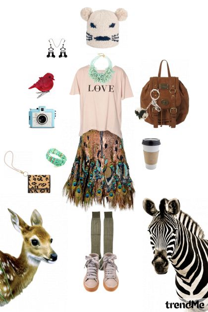 I'm in ZOO style