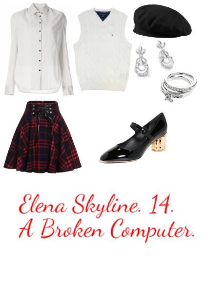 Elena Skyline. Chapter II.