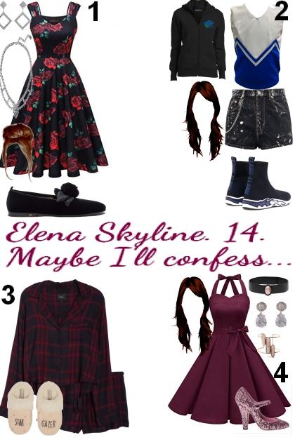 Elena Skyline. Chapter IX.