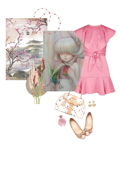 Blushing Heart- Fashion set