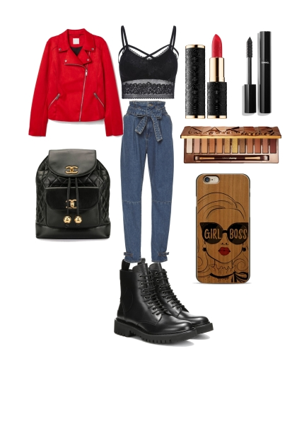 Effie college outfit #1