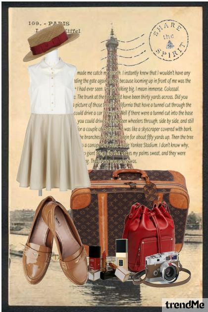 summer vacation in Paris
