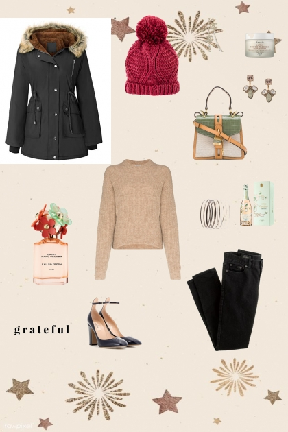 Winter Comfy and cute outfit - Kreacja