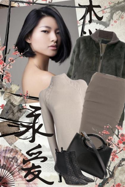 № 34- Combinazione di moda
