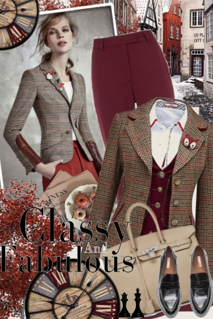 № 43- Combinazione di moda
