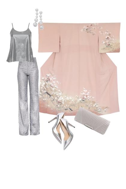 Kimono party set