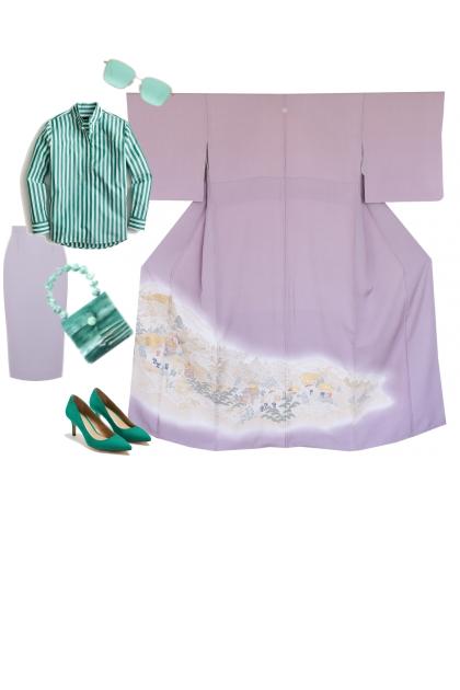 Kimono Set KM400-1
