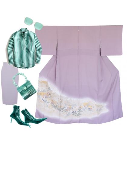 Kimono Set KM400-2