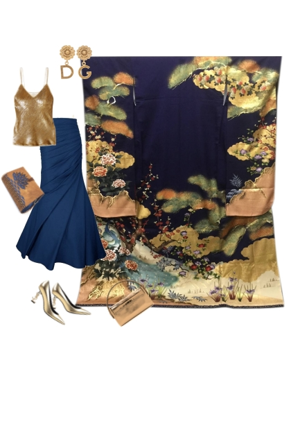 Kimono Set KM421