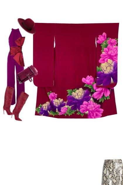 Kimono Set KM461-2