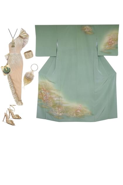 Kimono Set KM541