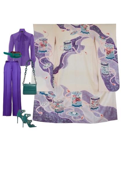Kimono Set KM434