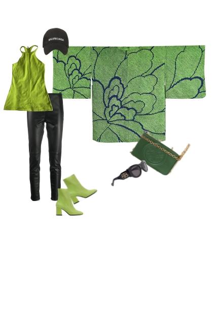 Kimono Jacket Set HR245-1