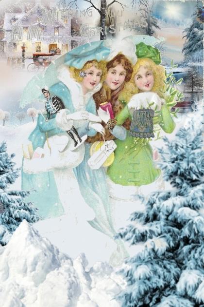 A postcard Christmas