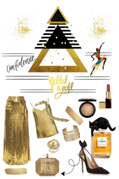 Golden Pyramid- Fashion set