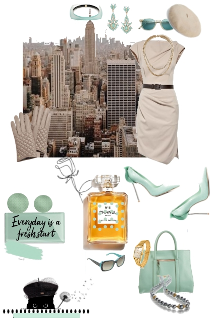 Today is Always the New Beginning- Fashion set