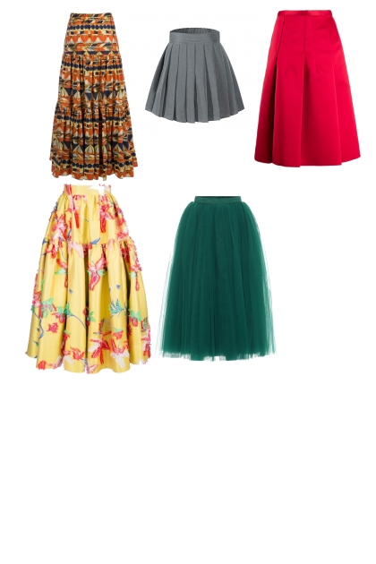 skirts- Fashion set