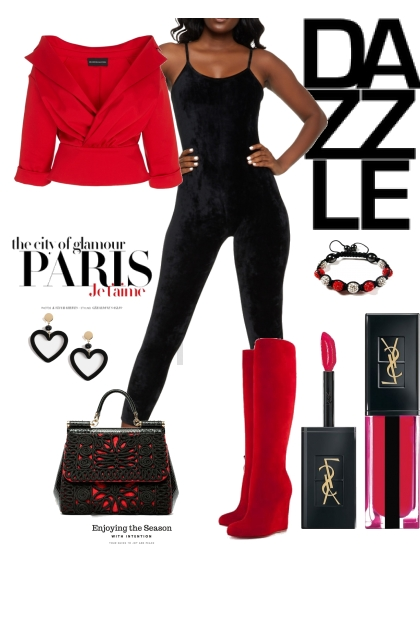 Dazzle In Red