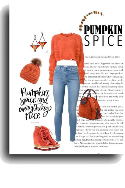 Pumpkin W/ Spice