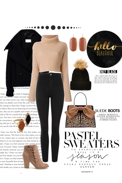 Pastel & Cheetah- Fashion set