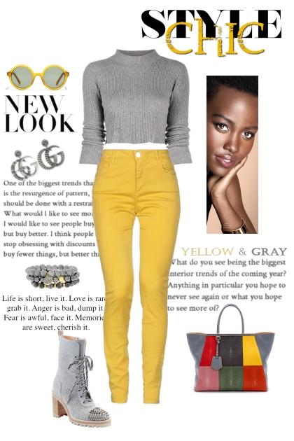 Yellows & Grays