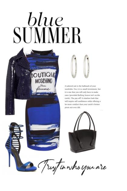 A Blue Summer
