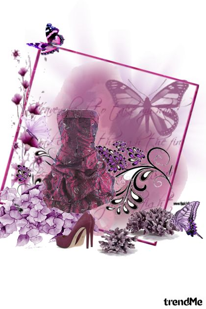 ljubicasti leptiri