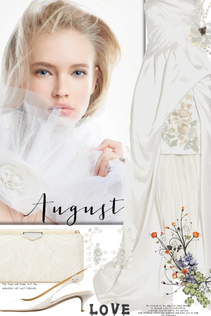 August Wedding Day