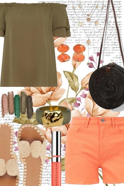 Peach & Khaki