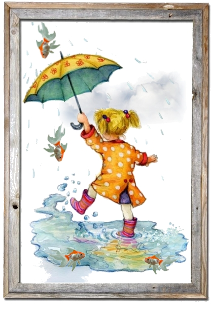 Rainy day in my world...