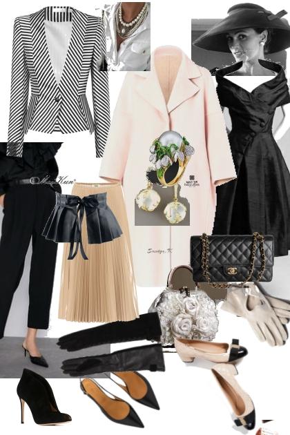 Мода 50-е от Dior