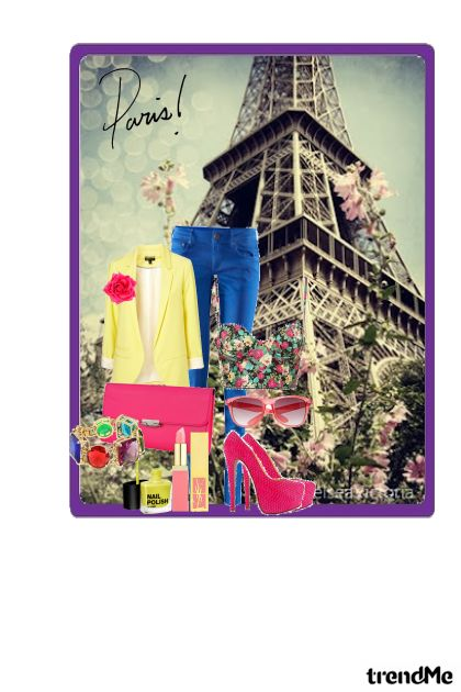 """Paris is always good idea"" Audrey H.- Modna kombinacija"